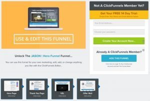 Clickfunnels Supplement Funnel Casio